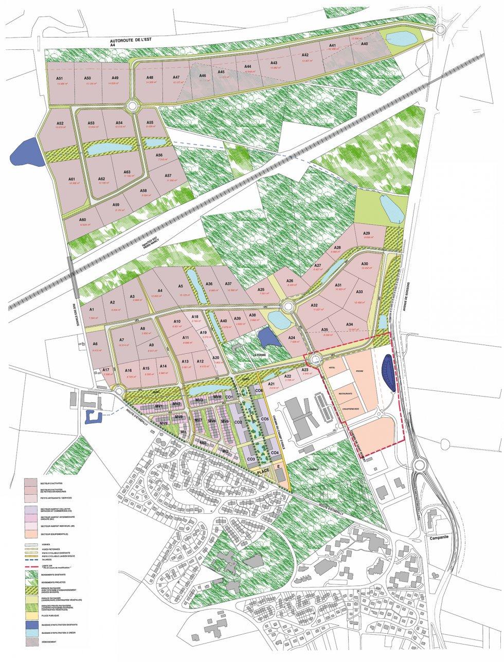 ARVAL architecture - Extension de la ZIR de la Moiserie – Château-Thierry - 3 Arval La Moiserie Château Thierry