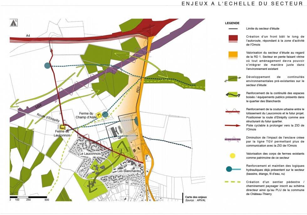 ARVAL architecture - Extension de la ZIR de la Moiserie – Château-Thierry - 2 Arval La Moiserie Château Thierry