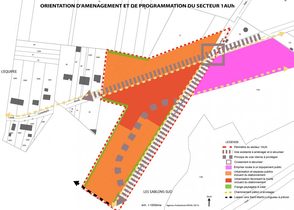 ARVAL architecture - PLAN LOCAL D'URBANISME (PLU) – BAZICOURT (60) - 3 Orientation d'Aménagement et de programmation