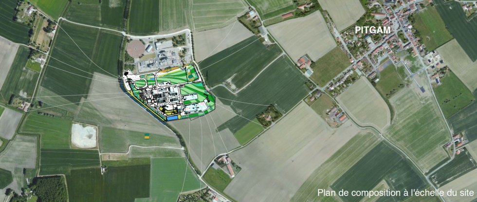 ARVAL architecture - STATION D'INTERCONNEXION – PITGAM - 1 Arval Pitgam 5