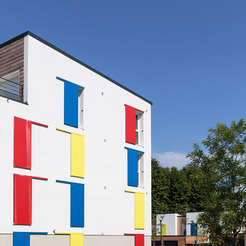 ARVAL architecture - 10 + 10 – Nogent sur Oise (Oise) - 6 Arval 10+10 Nogent sur Oise