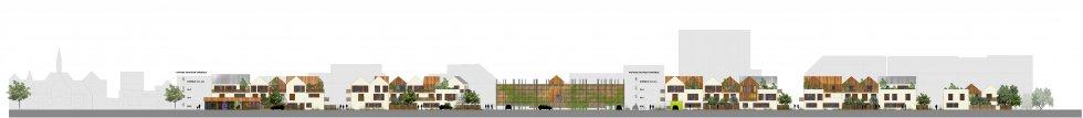 ARVAL architecture - ECOQUARTIER – SENLIS - 5 Arval ecoquartier Senlis
