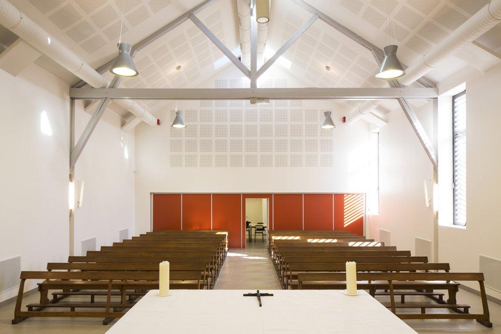 ARVAL architecture - Maison paroissiale – Cuise-la-Motte - 7 Arval Chapelle Cuise la Motte