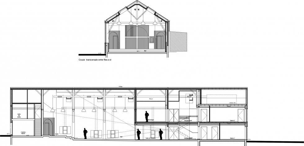 ARVAL architecture - Maison paroissiale – Cuise-la-Motte - 12 Arval Chapelle Cuise la Motte