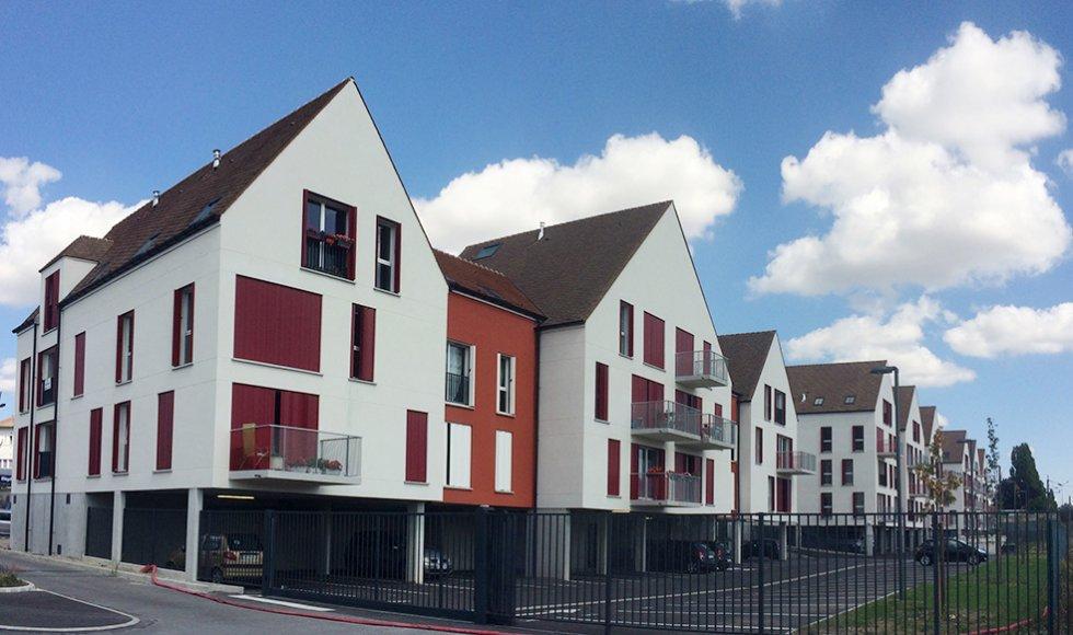 ARVAL architecture - Résidence des archers – Crépy-en-Valois - 2 ARVAL logements Victor Hugo