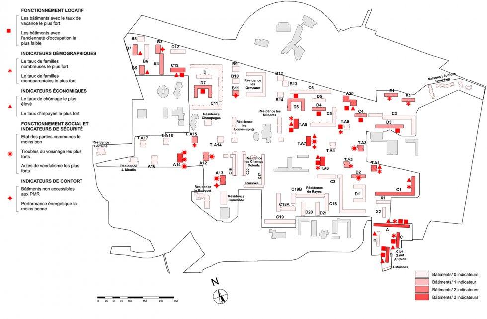 ARVAL architecture - NPNRU – étude quartier Argentine – Beauvais - 3 ARVAL NPRU Argentine-parc immobilier