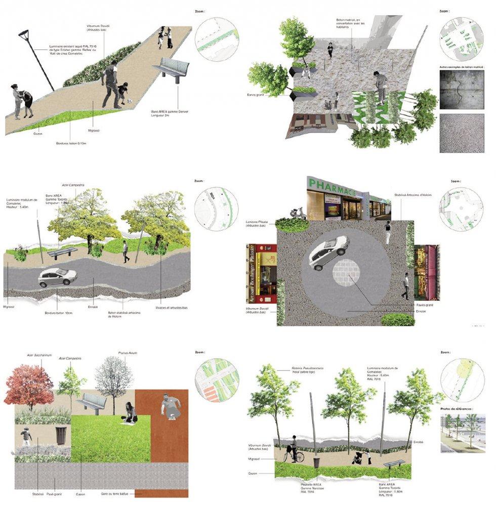 ARVAL architecture - PRU Chevreux – Soissons - 16 ARVAL PRU Chevreux Soissons  - palette matériaux