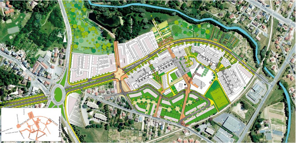 ARVAL architecture - PRU Chevreux – Soissons - 1 ARVAL PRU Chevreux Soissons - Plan guide