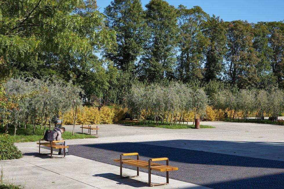 ARVAL architecture - Cité scolaire-Espaces extérieurs – Amiens - 3 arval cité scolaire amiens