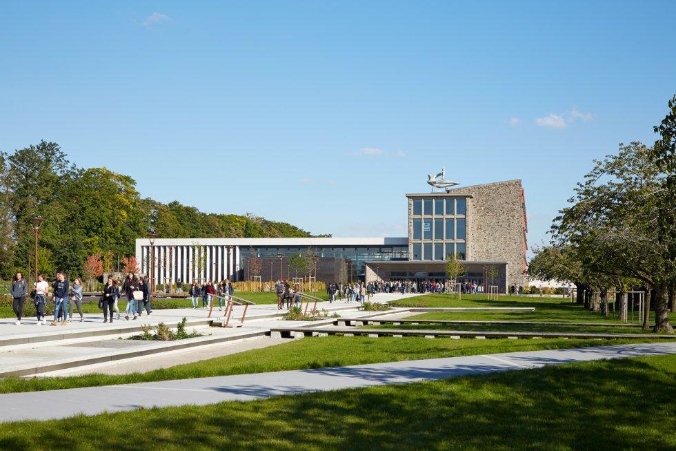 ARVAL architecture - Cité scolaire-Réhabilitation – Amiens - 1 Arval Cité scolaire Réhabilitation