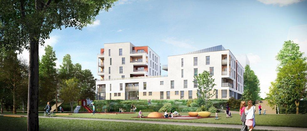 ARVAL architecture - 44 logements – Amiens - 2 ARVAL 44 logements à Amiens ZAC de la Gare de la Vallé Lot A32 pers 2