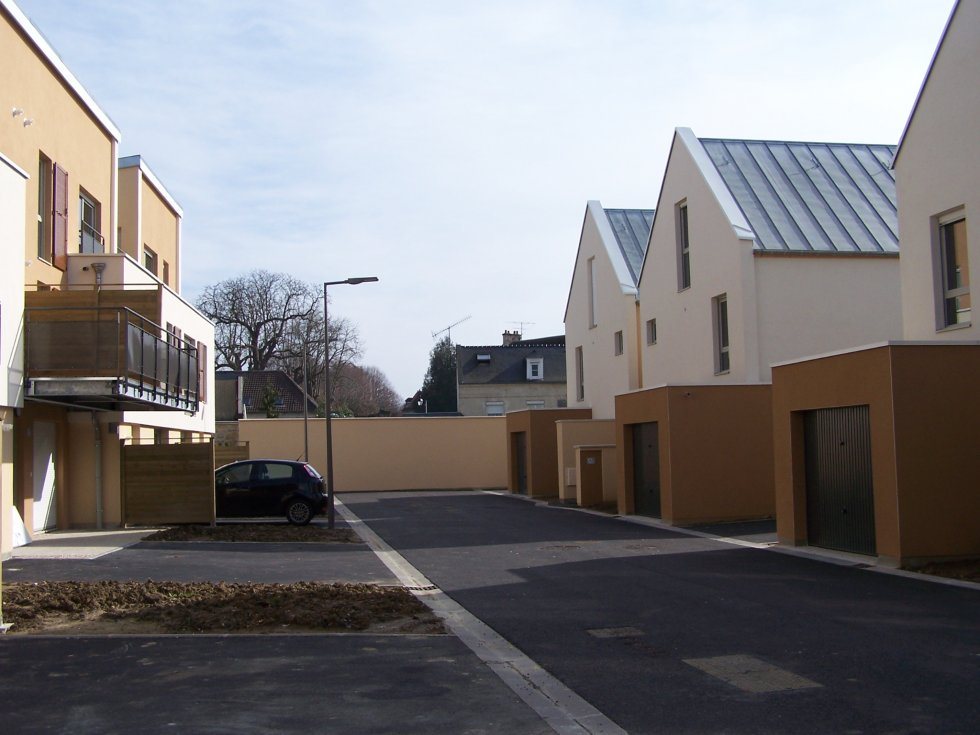 ARVAL architecture - 30 logements collectifs – Soissons - 2 Arval 30 logements Pépin le Bref Soissons