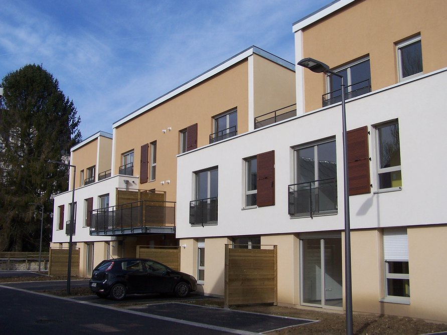 ARVAL architecture - 30 logements collectifs – Soissons - 1 Arval 30 logements Pépin le Bref Soissons
