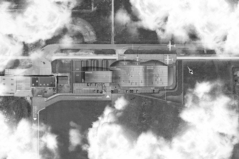 ARVAL architecture - L'IGN sur le site de l'aéroport Beauvais-Tillé - 4 ARVAL - IGN à Beauvais-Tillé