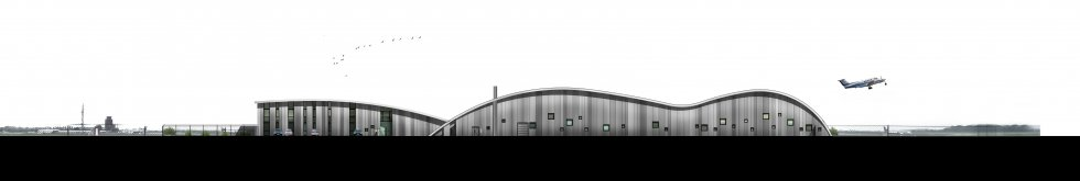 ARVAL architecture - L'IGN sur le site de l'aéroport Beauvais-Tillé - 3 ARVAL - IGN à Beauvais-Tillé