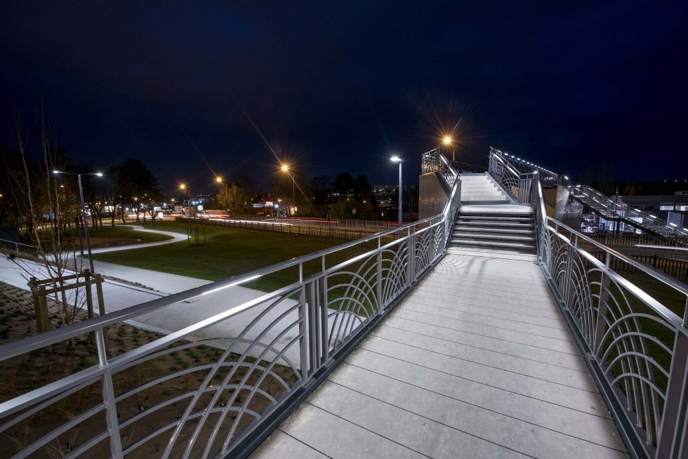 ARVAL architecture - Requalification RD 1029 – Saint Quentin - 7 arval RD 1029  passerelle Saint-Quentin