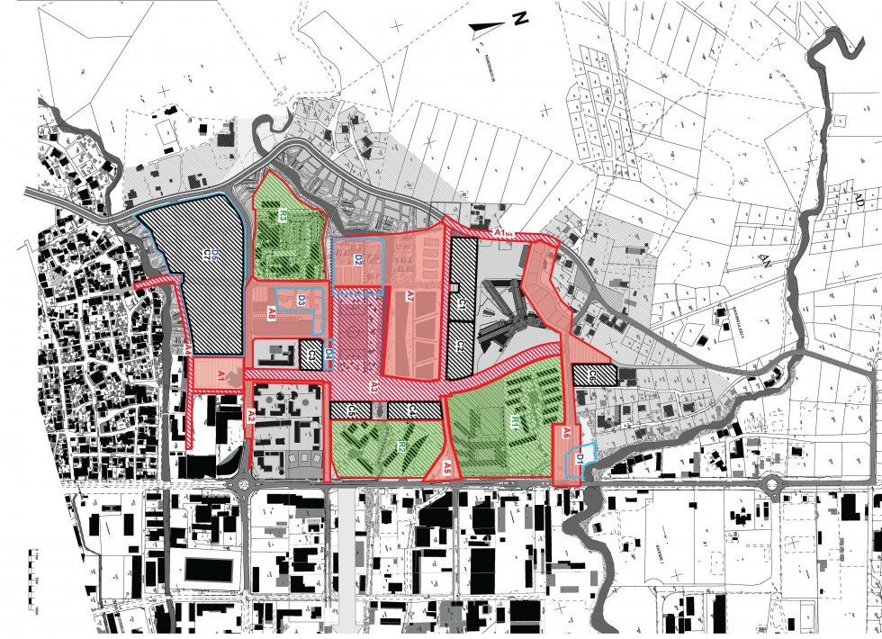 ARVAL architecture - Plan d'aménagement de la zone Kaweni – Mamoudzou - 7 Mamoudzou ARVAL plan opérations