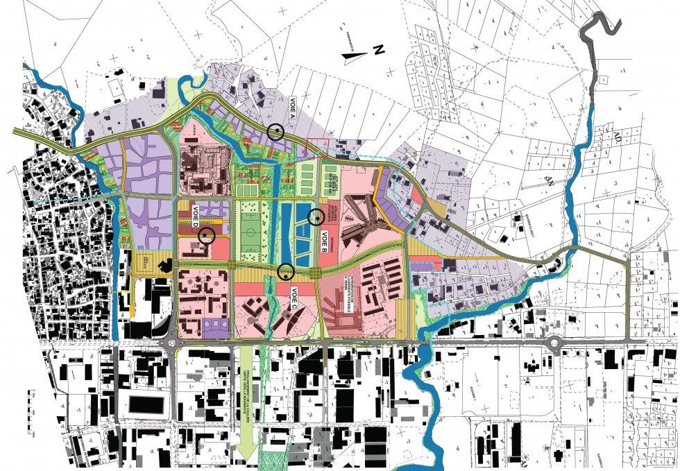 ARVAL architecture - Plan d'aménagement de la zone Kaweni – Mamoudzou - 10 Mamoudzou ARVAL plan directeur