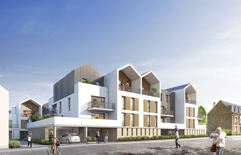 ARVAL architecture - 36 Logements – Villers-Cotterêts - 1 ARVAL-36 logements à Villers Cotterêts Logivam-vue