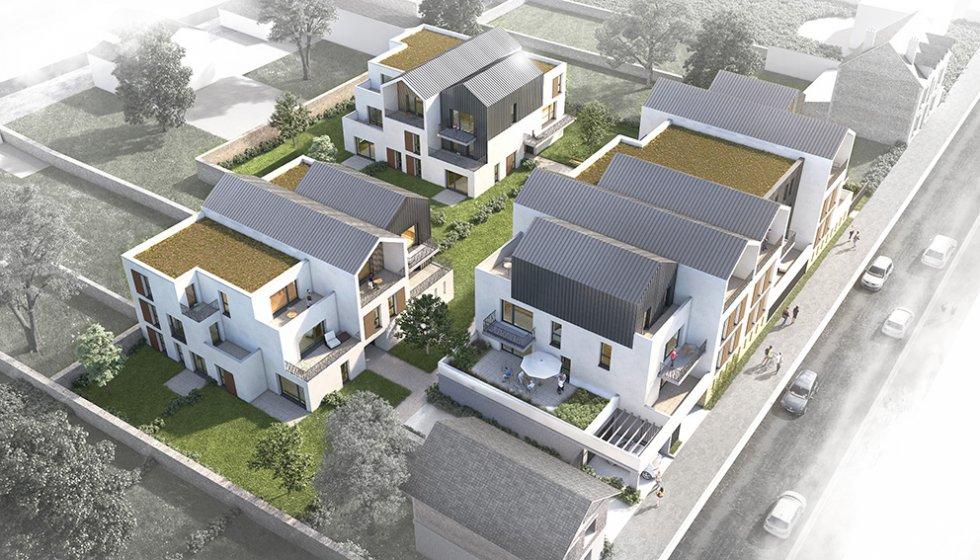 ARVAL architecture - 36 Logements – Villers-Cotterêts - 2 ARVAL-36 logements à Villers Cotterêts Logivam-vue