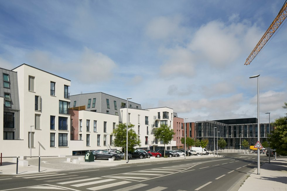 ARVAL architecture - ZAC des 2 Rives-Ilôt C – Compiègne - 4 ZAC des 2 Rives - Ilot C