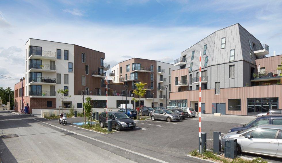 ARVAL architecture - ZAC des 2 Rives-Ilôt C – Compiègne - 9 ZAC des 2 Rives - Ilot C
