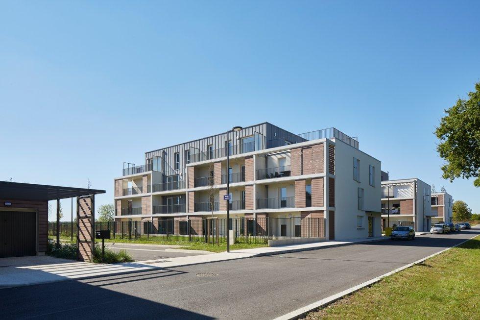 """ARVAL architecture - 63 logements """"25 RGA"""" – Compiègne - 1 arval 63 logements 25 RGA 1"""