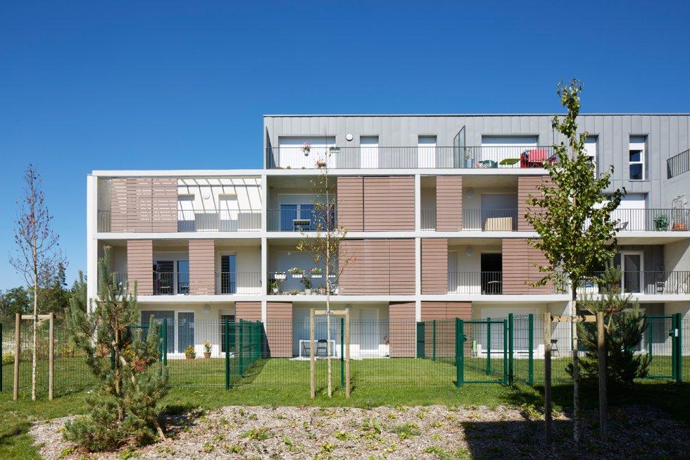 """ARVAL architecture - 63 logements """"25 RGA"""" – Compiègne - 2 arval 63 logements 25 RGA 4"""