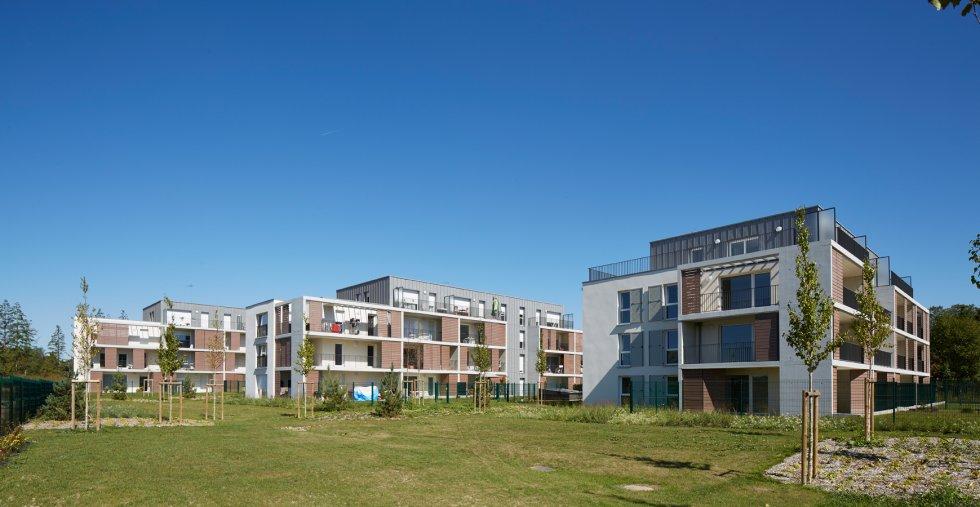"""ARVAL architecture - 63 logements """"25 RGA"""" – Compiègne - 3 arval 63 logements 25 RGA 5"""
