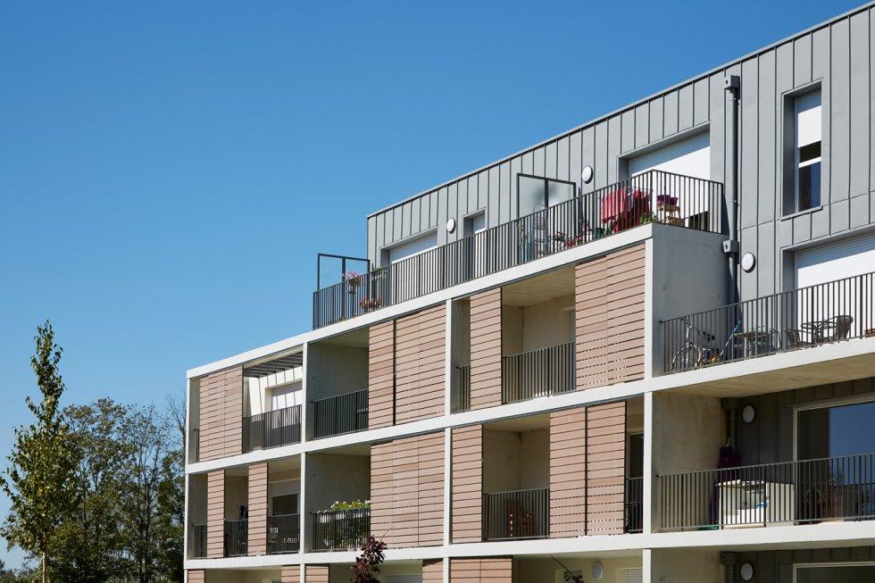 """ARVAL architecture - 63 logements """"25 RGA"""" – Compiègne - 7 arval 63 logements 25 RGA 6"""