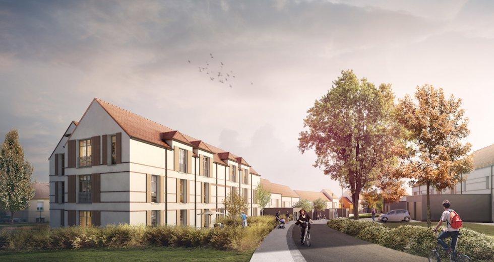 ARVAL architecture - 52 Logements – Brenouilles - 4 ARVAL 52 logements Brenouilles