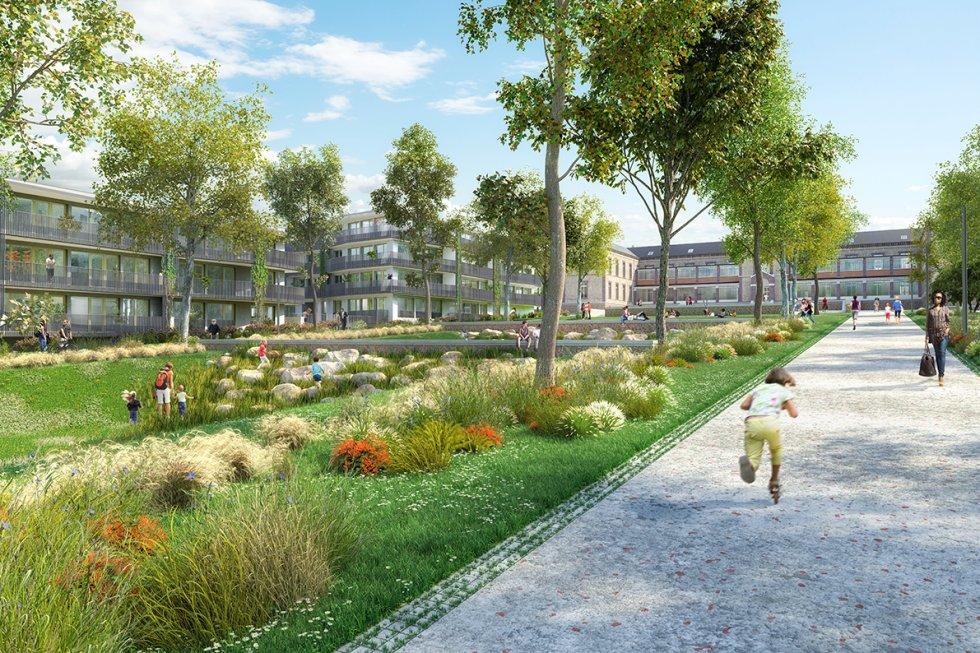 ARVAL architecture - ZAC Saint-Jean –  Lagny-sur-Marne (77) - 3 ARVAL ZAC Saint-Jean -  Lagny-sur-Marne (77)