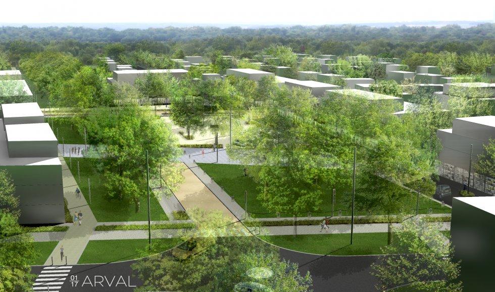ARVAL architecture - ZAC des Sablons – Compiègne (60) - 1 ZAC des Sablons Compiègne
