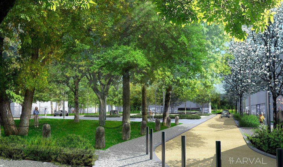 ARVAL architecture - ZAC des Sablons – Compiègne (60) - 3 ZAC des Sablons Compiègne