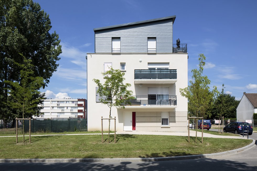 ARVAL architecture - PRUS-Quartier Le Clos des Roses – Compiègne - 6 Arval Clos des Roses Compiègne