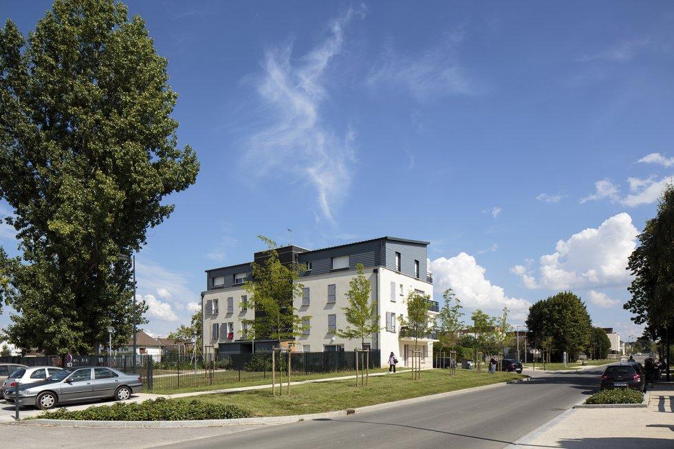 ARVAL architecture - PRUS-Quartier Le Clos des Roses – Compiègne - 5 Arval Clos des Roses Compiègne