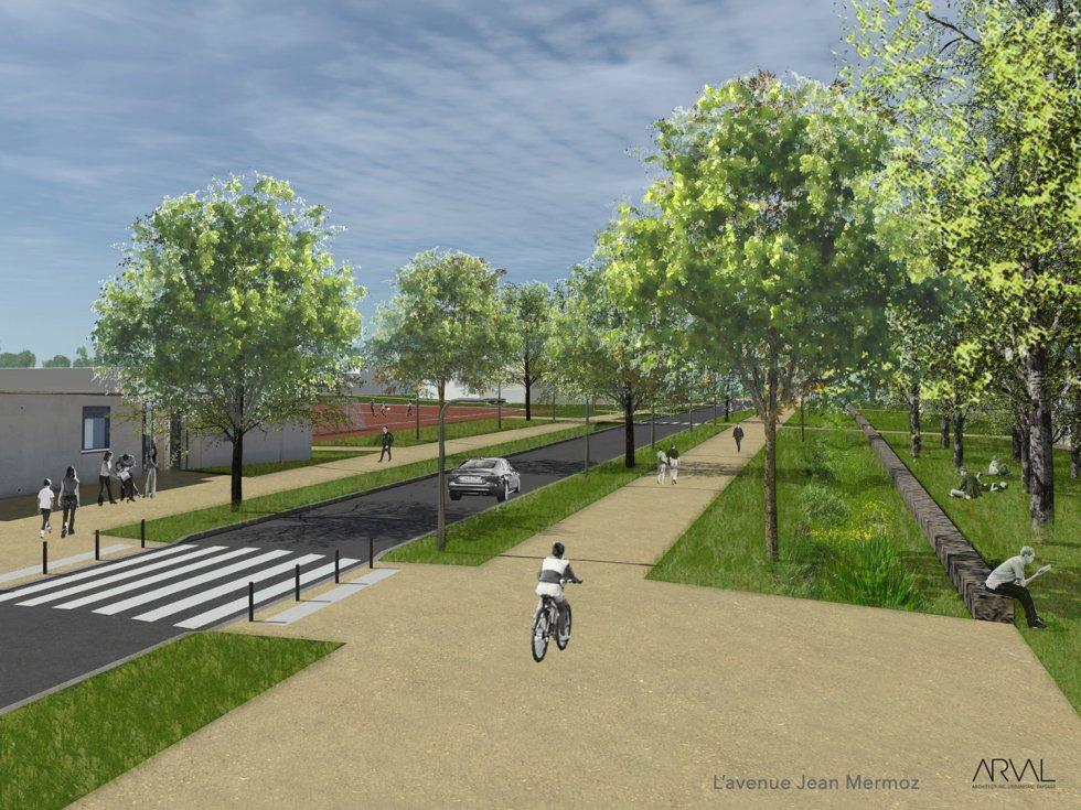 ARVAL architecture - Parc des sports – Lagny-sur-Marne - 1 ARVAL Parc des sports - Lagny-sur-Marne - pers