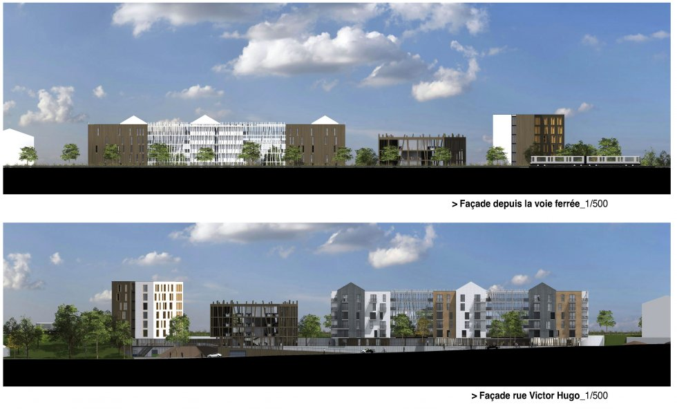 ARVAL architecture - Equipements et logements – Chantilly - 8 ARVAL Equipements et logements Chantilly
