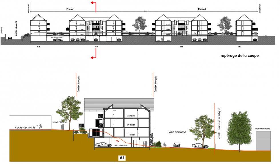 ARVAL architecture - 40 Logements – Verneuil-en-Halatte - 8 ARVAL Logements Verneuil-en-Halatte