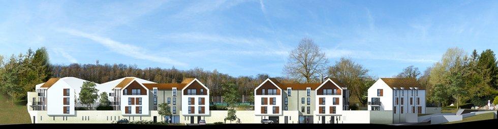 ARVAL architecture - 40 Logements – Verneuil-en-Halatte - 10 ARVAL Logements Verneuil-en-Halatte