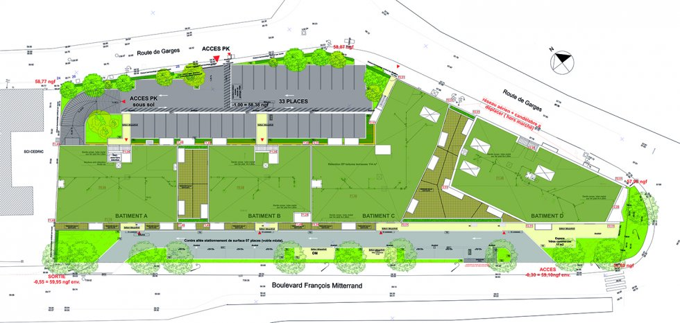 ARVAL architecture - 90 Logements – Sarcelles - 4 ARVAL 90 Logements Sarcelles