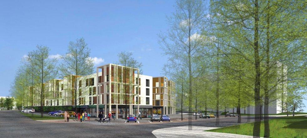ARVAL architecture - 87 Logements – Nogent-sur-Oise - 1 ARVAL 87 logements Nogent-sur-Oise
