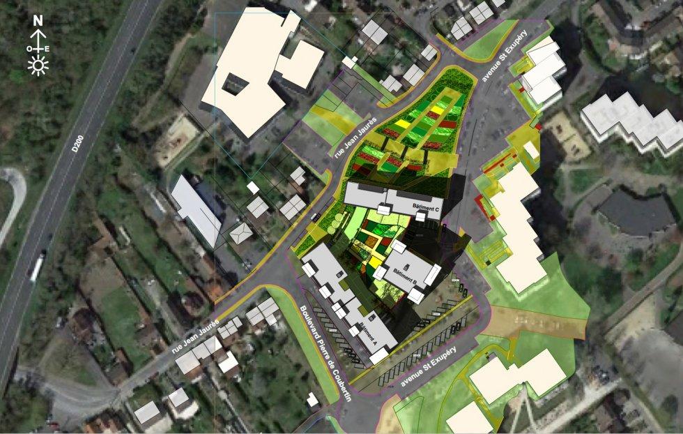 ARVAL architecture - 87 Logements – Nogent-sur-Oise - 2 ARVAL 87 logements Nogent-sur-Oise