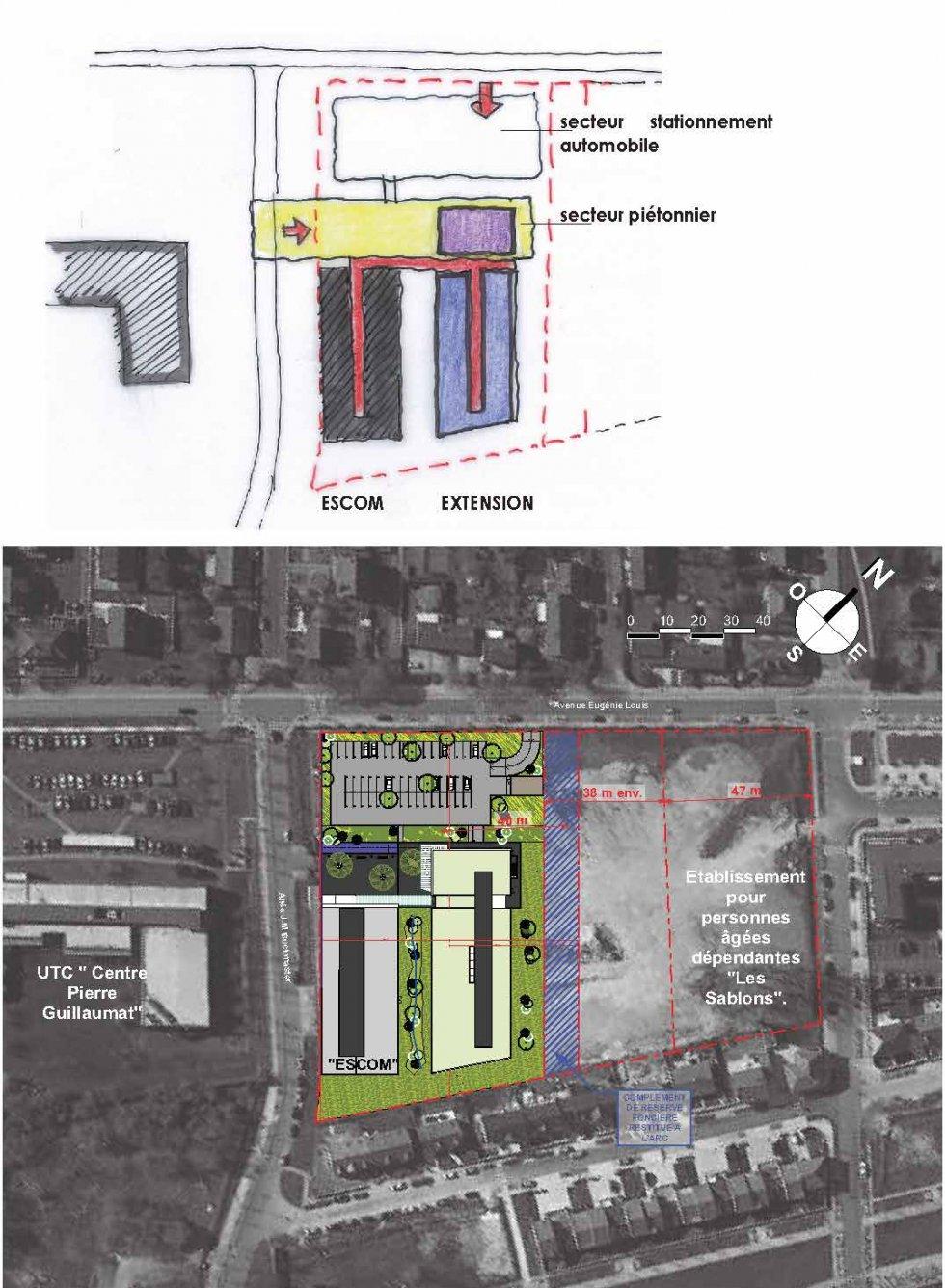 ARVAL architecture - ESCOM – Compiègne - 3 ARVAL Extension Escom Compiègne