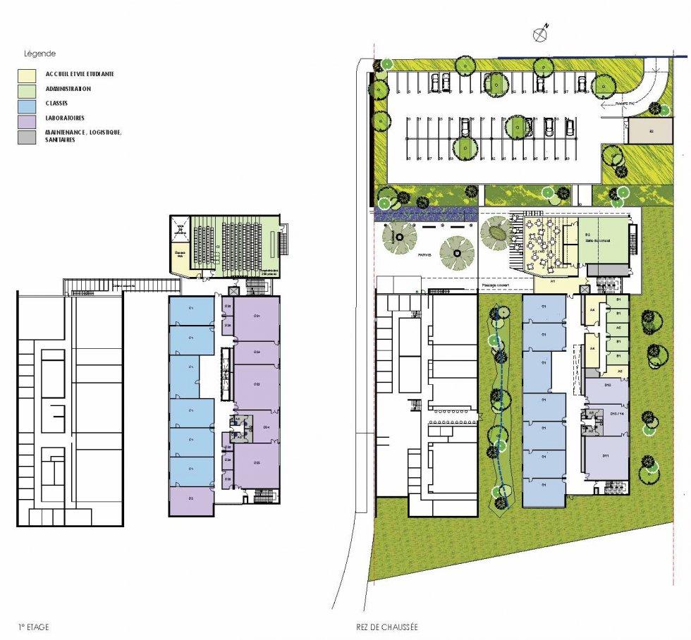 ARVAL architecture - ESCOM – Compiègne - 4 ARVAL Extension Escom Compiègne