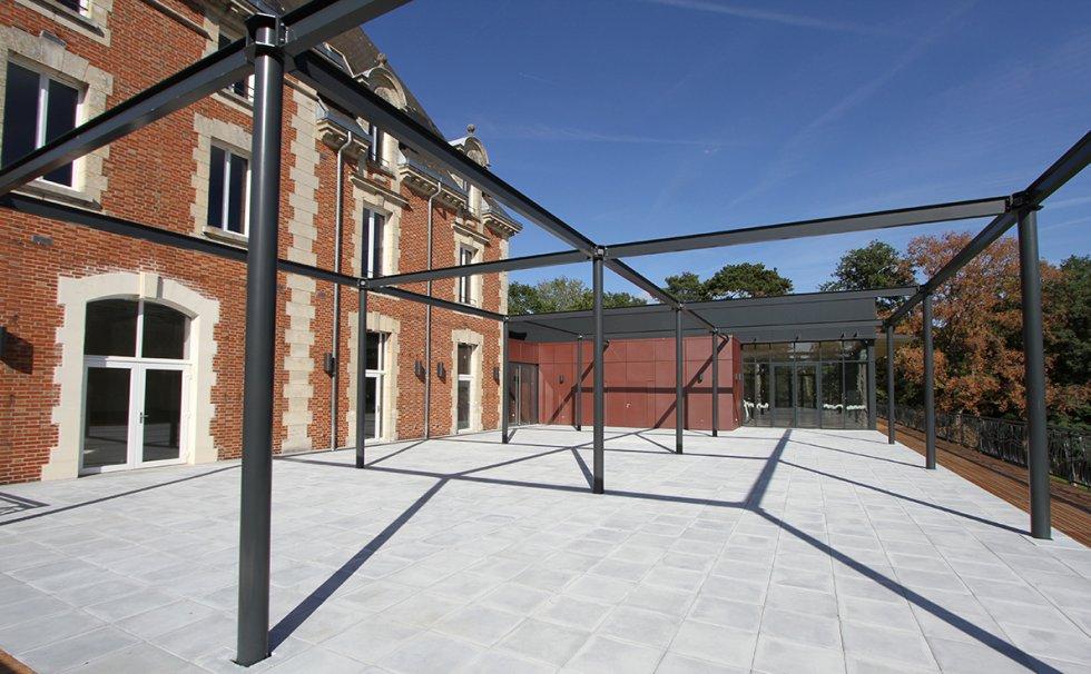 ARVAL architecture - Salle polyvalente – Russy Bémont - 3 ARVAL salle polyvalente Butte de Montigny Russy Bémont