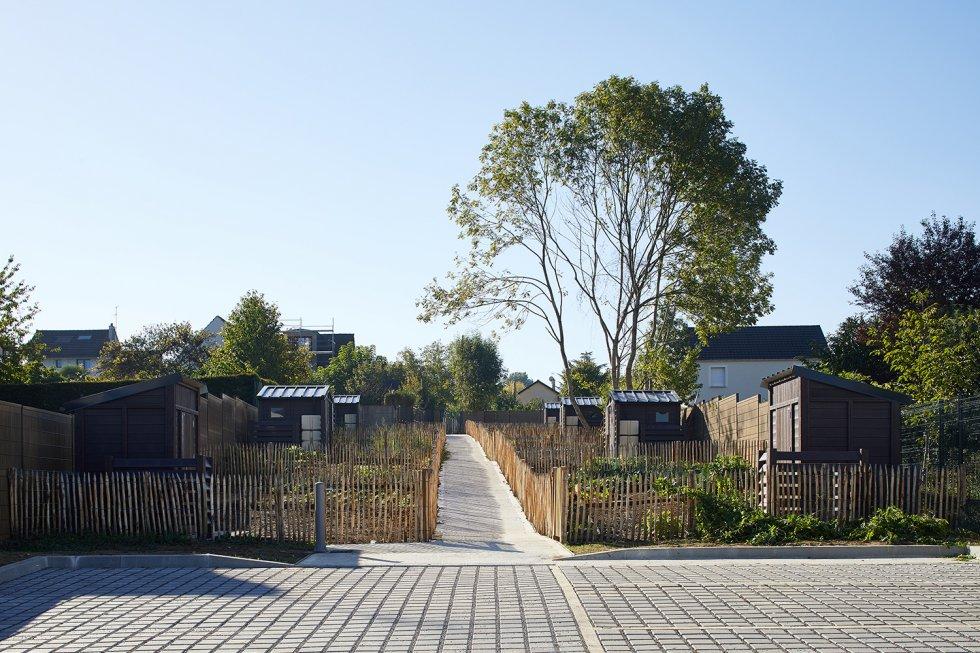 ARVAL architecture - Jardins familiaux – Lagny-Sur-Marne - 1 ARVAL Jardins familiaux Lagny Sur Marne
