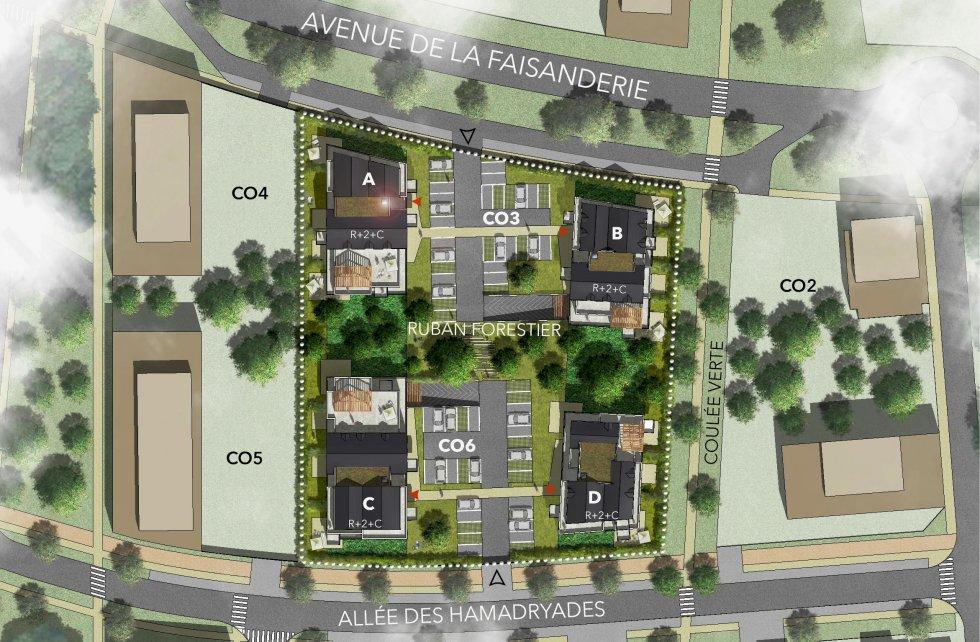 """ARVAL architecture - 71 Logements """"La Canopée"""" – Compiègne - 6 1829 logements"""