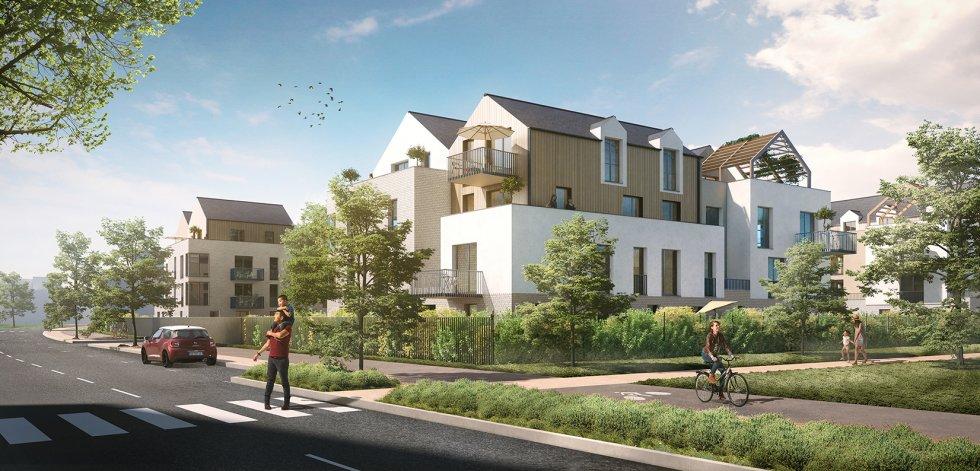 """ARVAL architecture - 71 Logements """"La Canopée"""" – Compiègne - 2 1829 logements"""