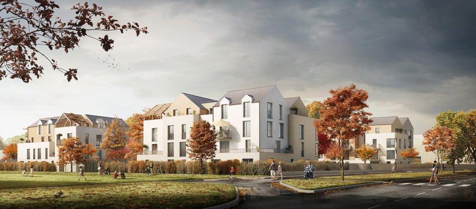 """ARVAL architecture - 71 Logements """"La Canopée"""" – Compiègne - 4 1829 logements"""